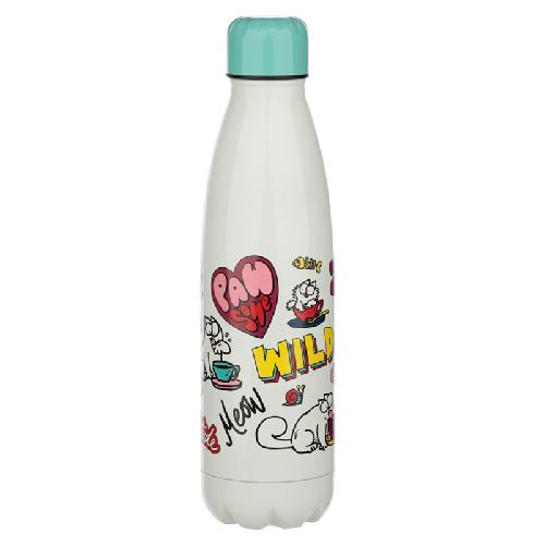 Simon's Cat Stainless Steel Insulated Bottle (Pawsome)