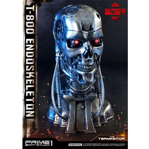 The Terminator High Definition Bust 1/2 T-800 Endoskeleton Head