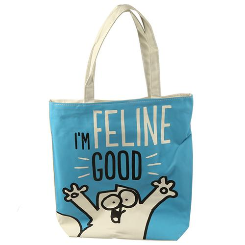 Simon's Cat Feline Good Shopping Bag