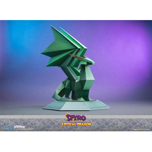 Spyro the Dragon Statue Crystal Dragon