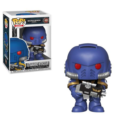 Warhammer 40K POP! Games Vinyl Figure Ultramarines Intercessor