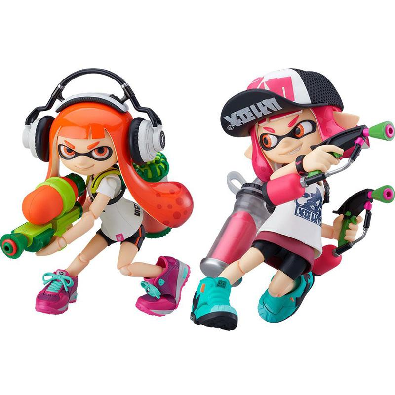 Splatoon / Splatoon 2 Figma Action Figures Splatoon Girl