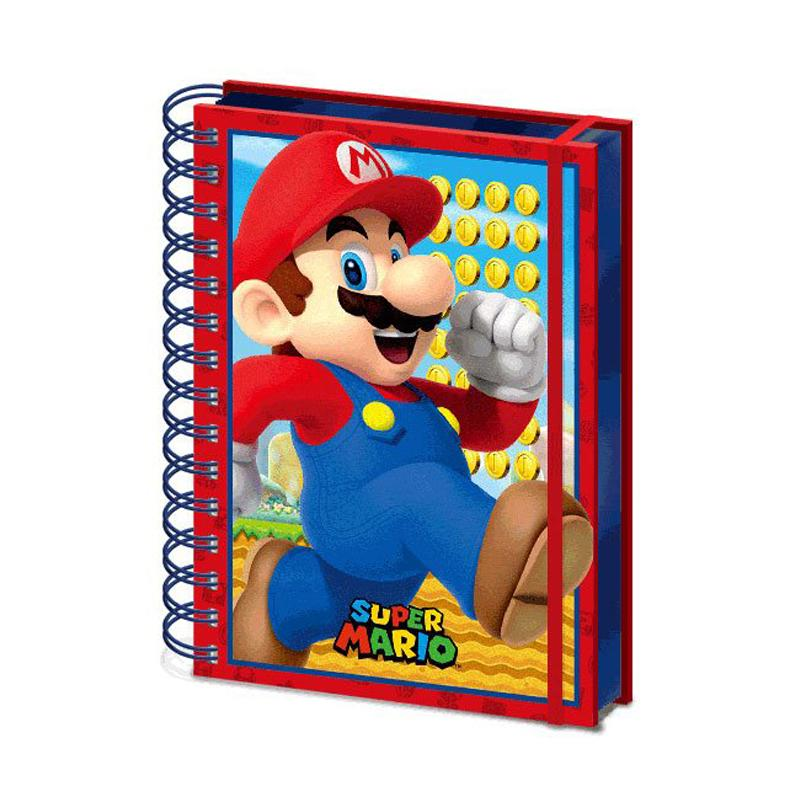 Super Mario 3D Wiro Notebook A5