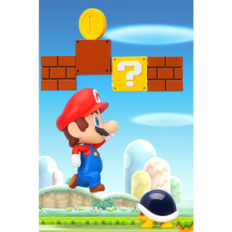 Super Mario Bros. Nendoroid Action Figure Mario hit block