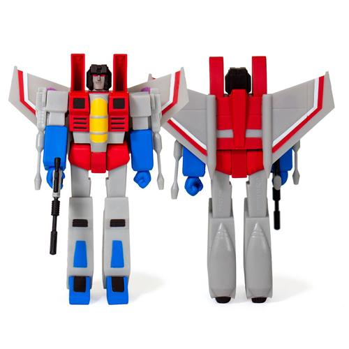 Starscream ReAction Action Figure Transformers Wave 1
