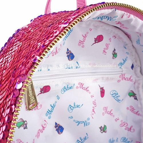 Sleeping Beauty Backpack Reversible Sequin Disney by Loungefly