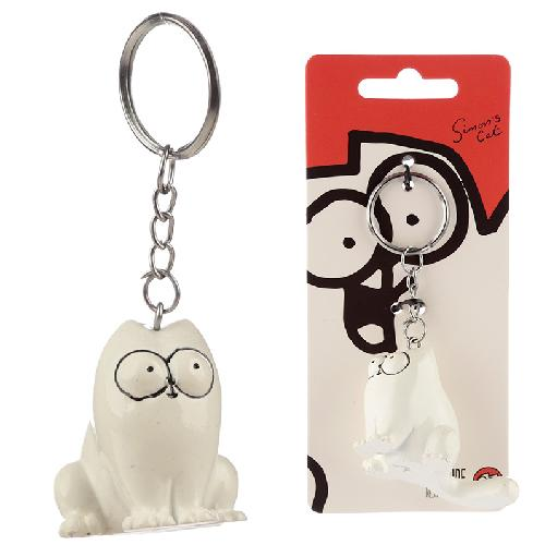 Simon's Cat 3D Keyring (Sitting)