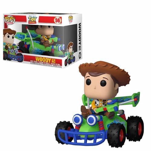 Default Title Toy Story POP! Rides Vinyl Figure Woody & RC