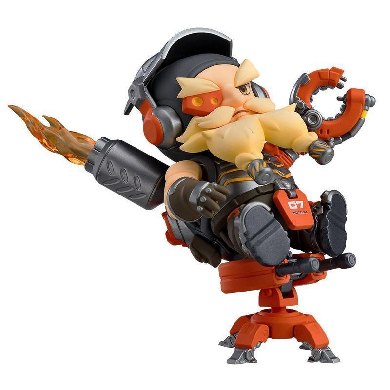 Overwatch Nendoroid Action Figure Torbjorn Classic Skin Edition (pre-order)