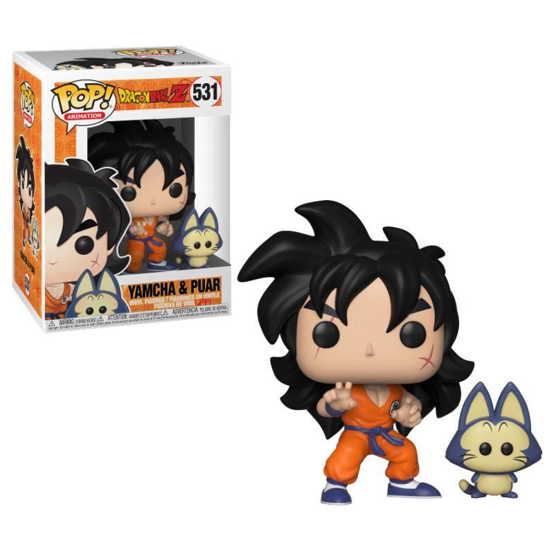 Dragonball Z POP! Animation Vinyl Figure Yamcha & Puar