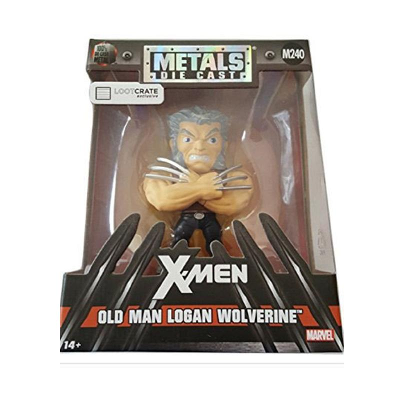Marvel Comics Metals Diecast Mini Figure Wolverine Old Man Logan LC Exclusive