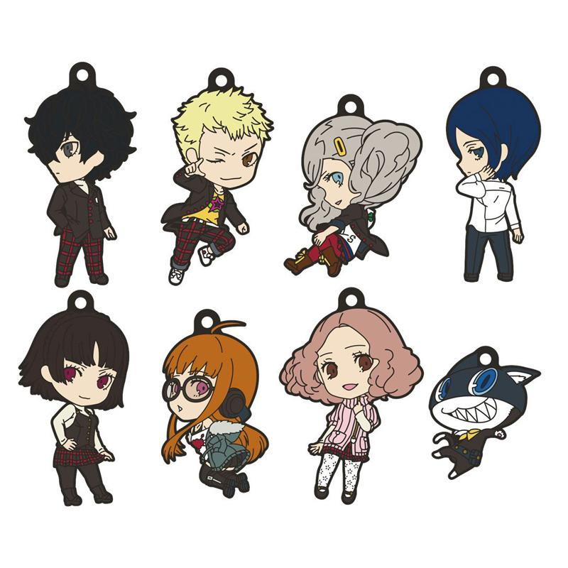 Persona 5 The Animation Nendoroid Plus Rubber Keychain