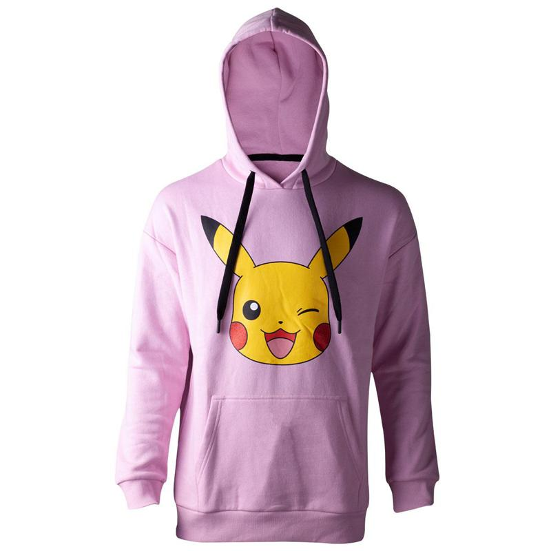 Pokémon Ladies Hooded Sweater Pikachu