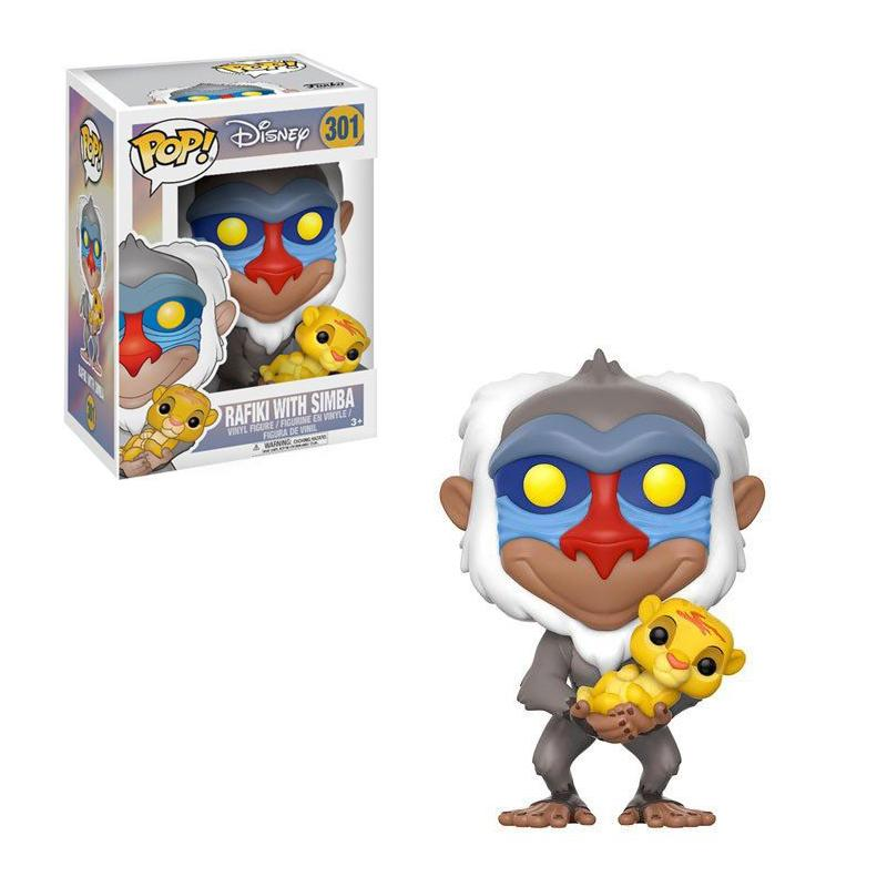 The Lion King POP! Disney Vinyl Figure Rafiki & Simba