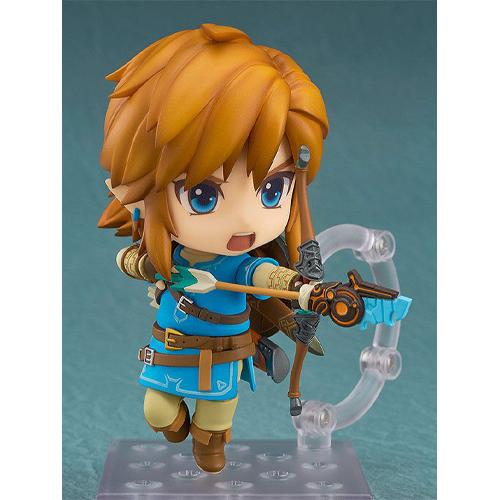 The Legend of Zelda Breath of the Wild Nendoroid Action Figure Link Deluxe Edition