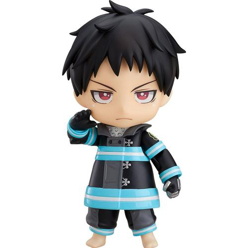 Shinra Kusakabe Nendoroid Action Figure Fire Force