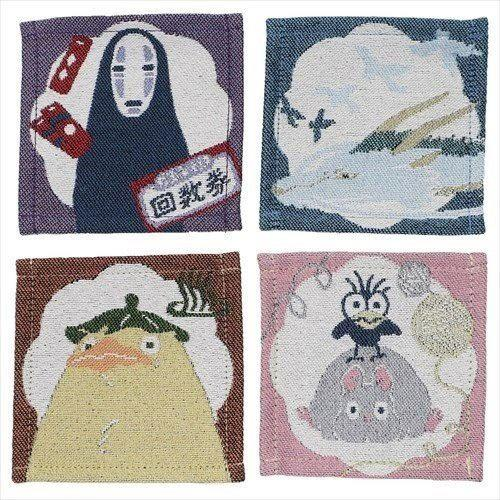 Spirited Away Characters Coaster 4-Pack