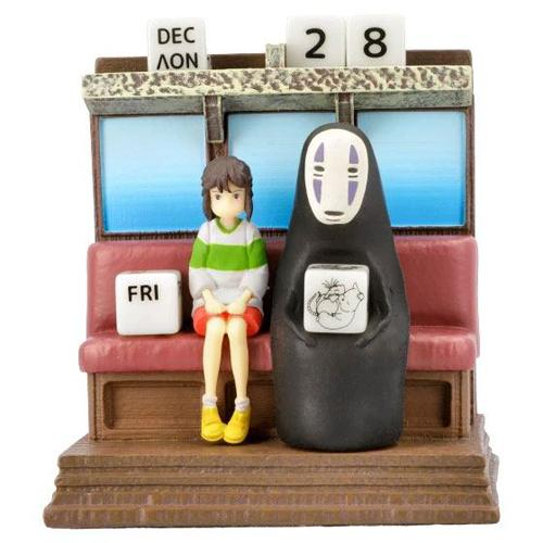 Unabara Train Perpetual Calendar Spirited Away