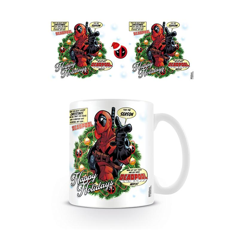 Deadpool (Tis The Season) Coffee Mug