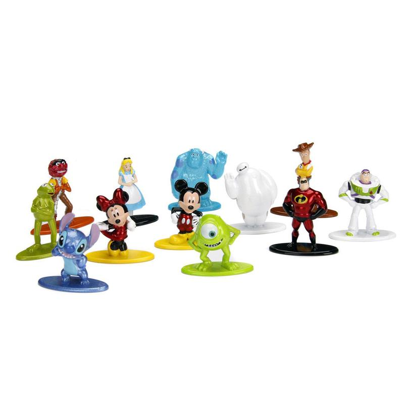 Disney Nano Metalfigs Diecast Mini Figures 4 cm Assortment Wave 1