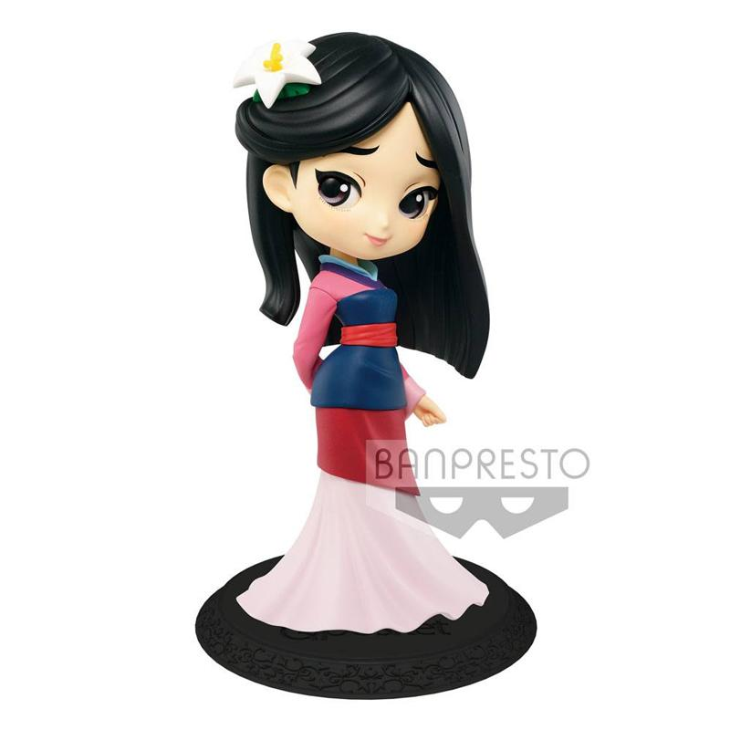 Disney Q Posket Mini Figure Mulan A Normal Color Version