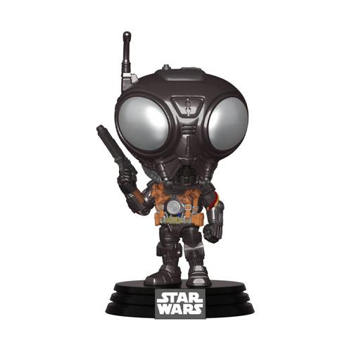 Star Wars The Mandalorian POP! TV Vinyl Figure Q9-Zero