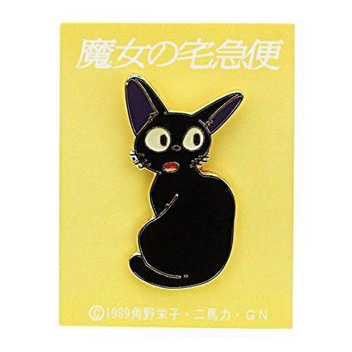 Jiji Turn Around Pin Badge Kiki's Delivery Service