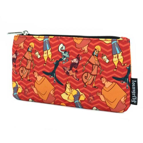 The Emperor's New Groove AOP Coin/Cosmetic Bag Disney by Loungefly