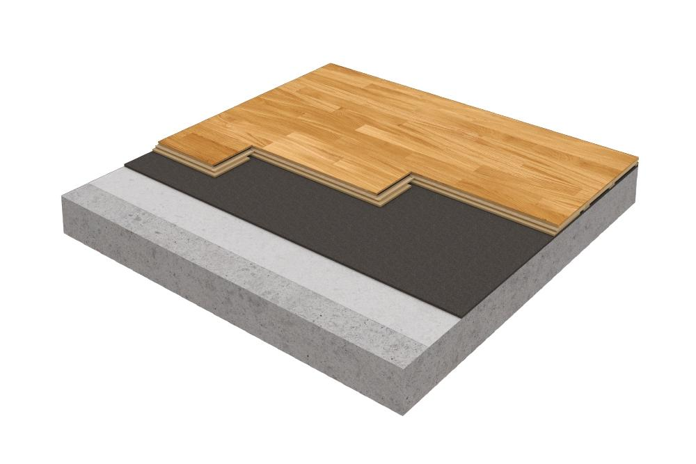 Smart Flex sprung wood dance flooring