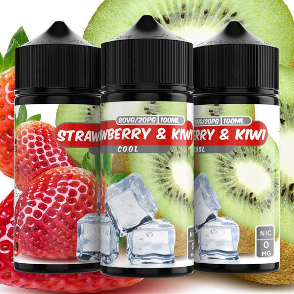 Cool Strawberry & Kiwi e liquid