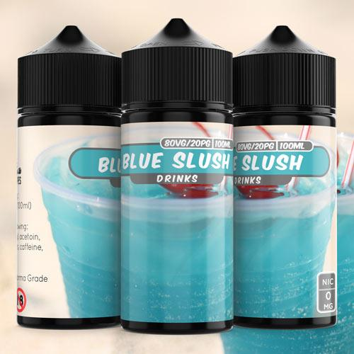 100ml Blue Slush 4mg e liquid