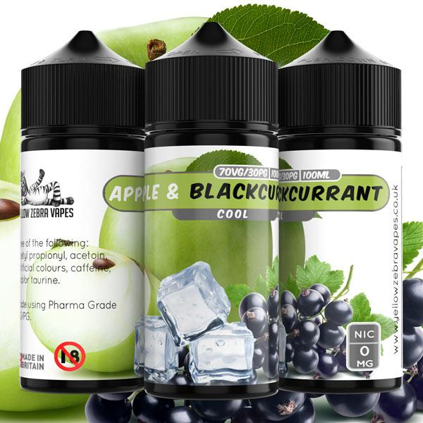 Cool Apple & Blackcurrant e liquid