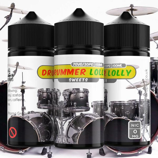 100ml Drummer Lolly 2mg e liquid