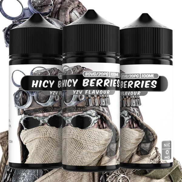 100ml Hicy Berries 0mg e liquid