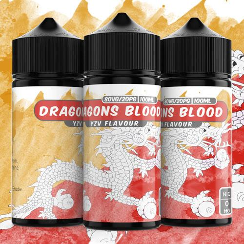 100ml Dragons Blood 2mg e liquid