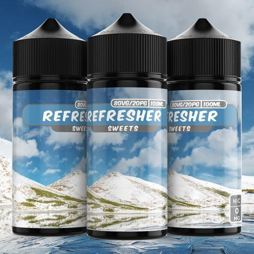 100ml 4mg Refreshers e liquid