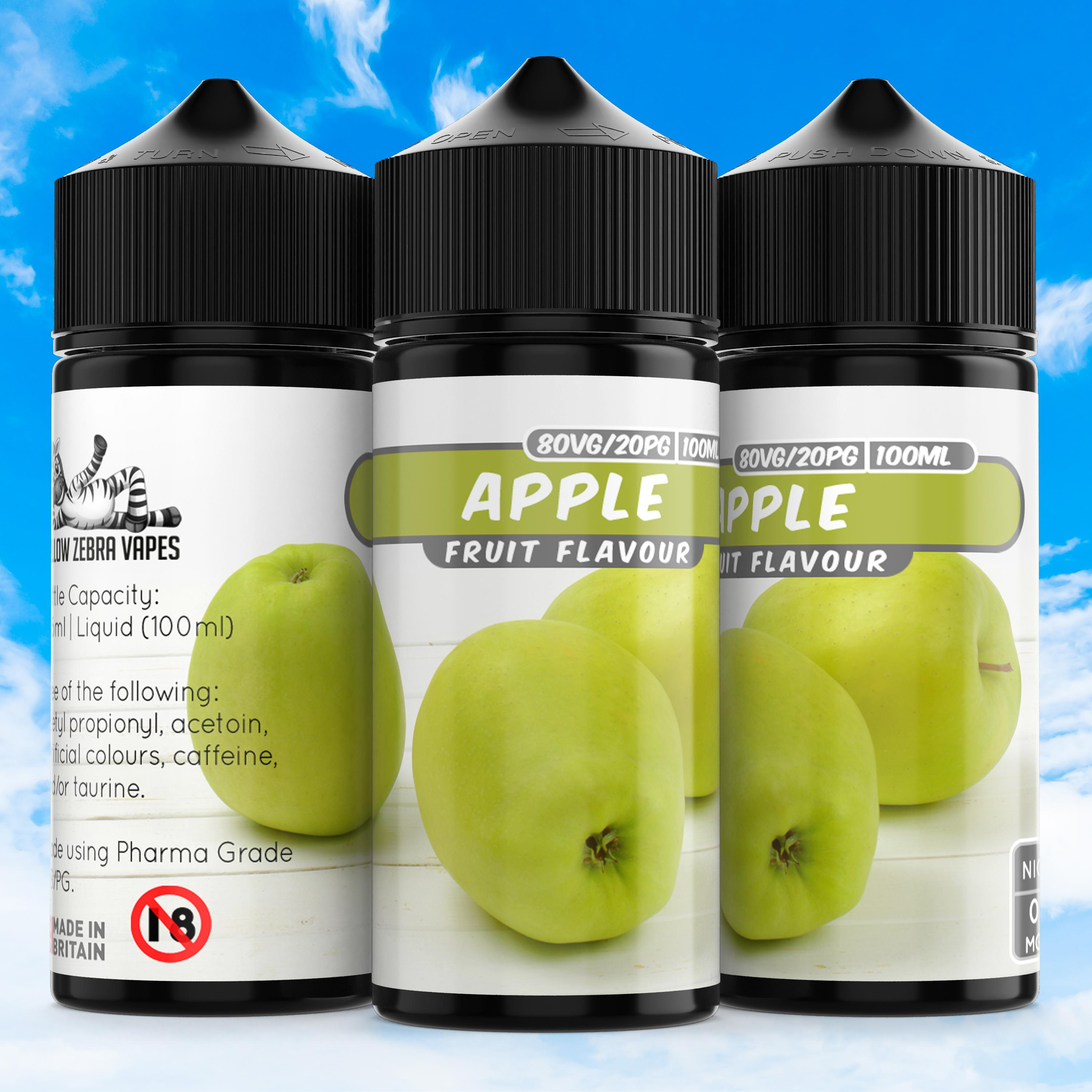 100ml 6mg Apple e liquid