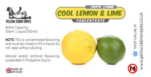 Cool Lemon and Lime concentrate