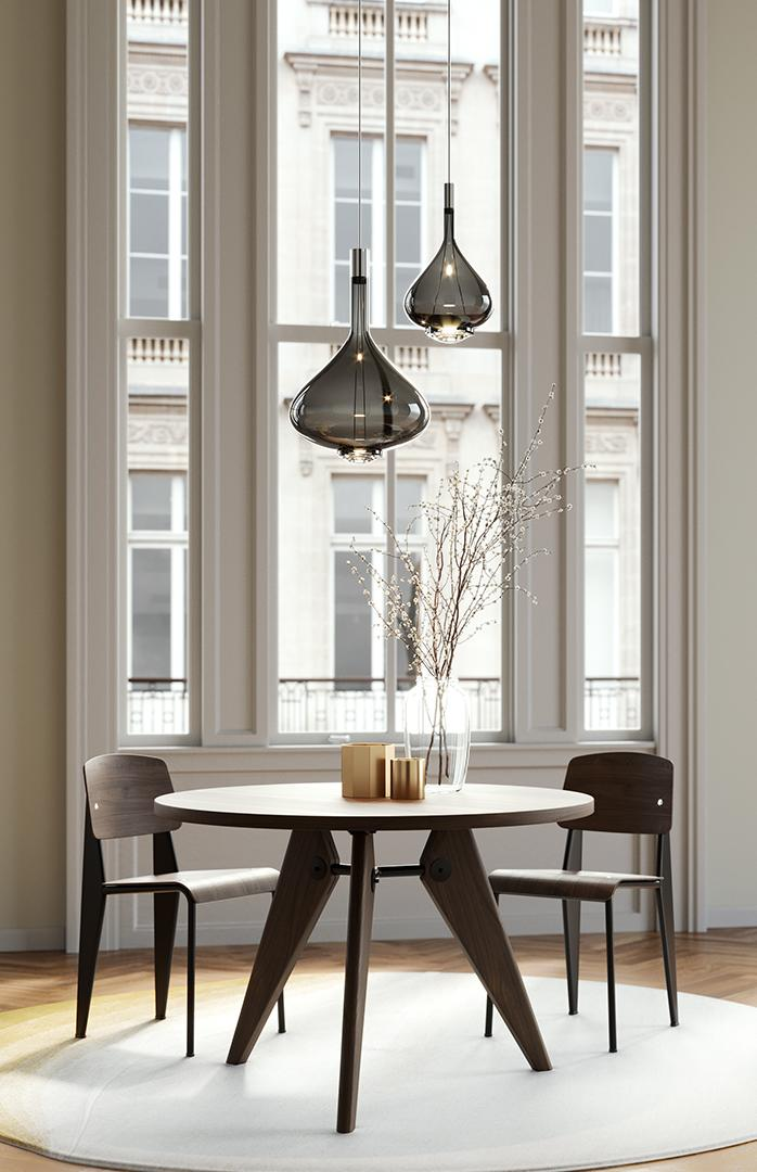 Sky-fall pendant lights