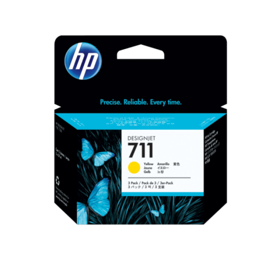 HP INK 711 YELLOW
