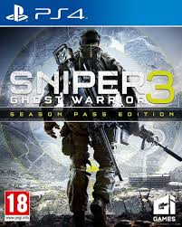 PS4 GAME SNIPER GHOST WARRIOR 3 SPE