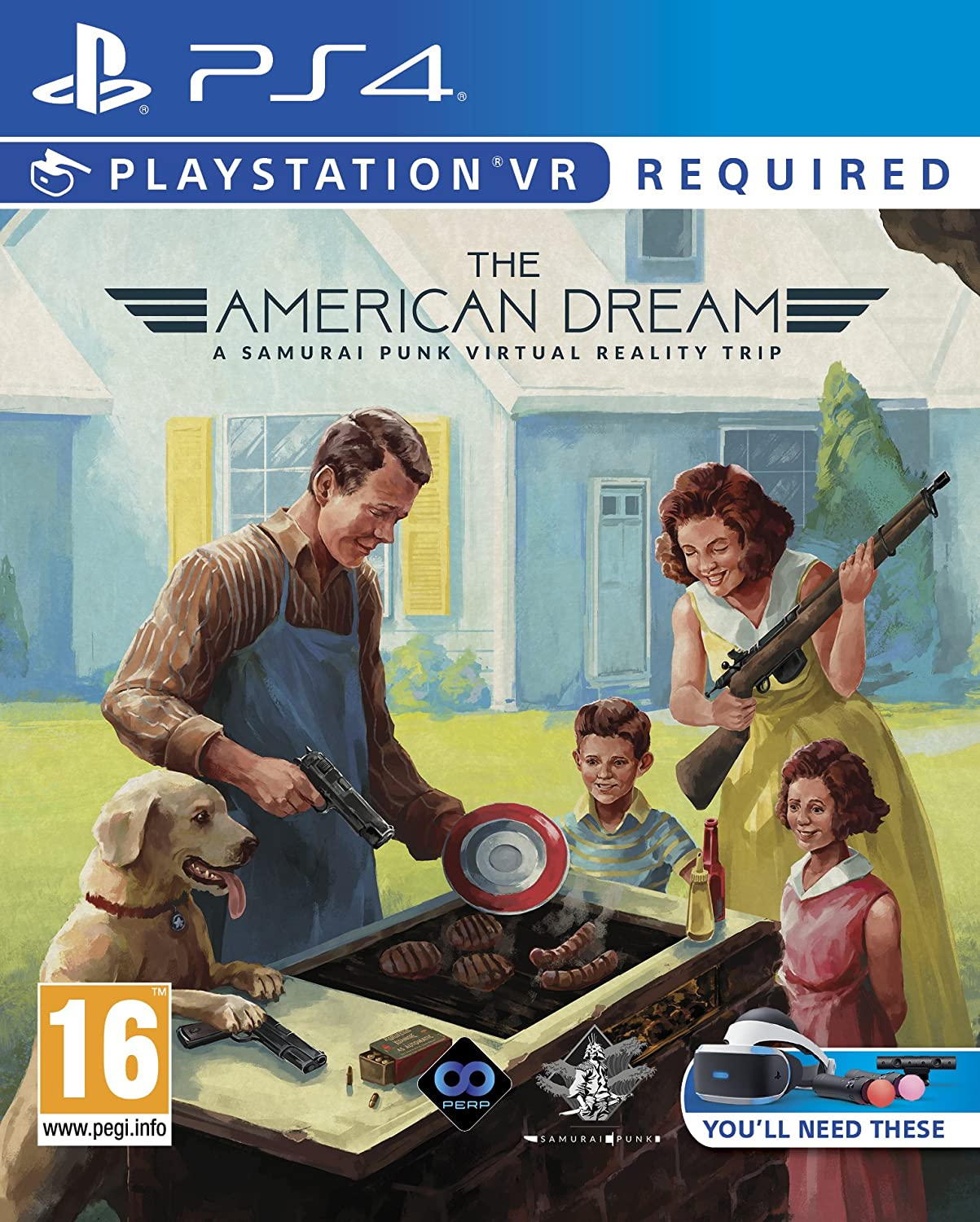 PS4 GAME THE AMERICAN DREAM VR