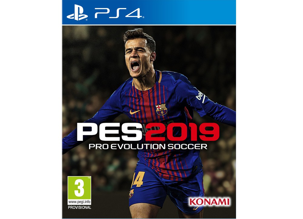 PES 2019 PS4 GR OR UK