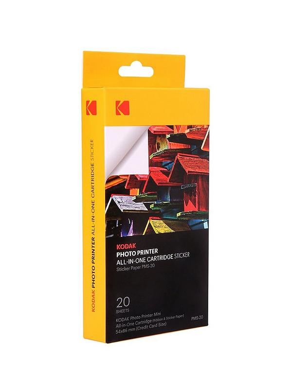 KODAK PAPER 20 PACKS 2.1'x3.4'