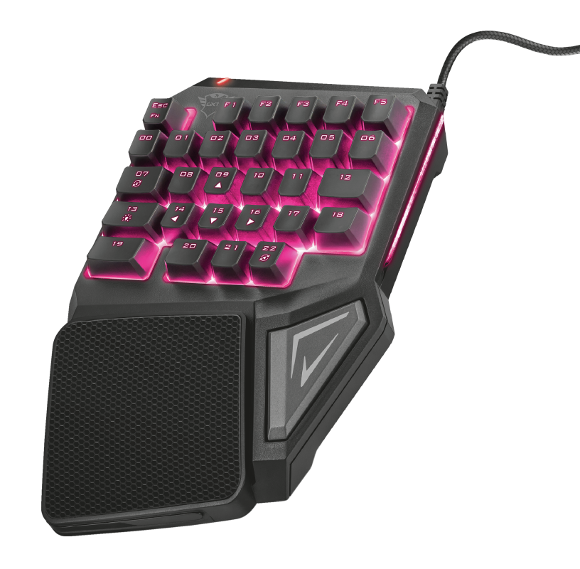 TRUST ASSA GXT888 GAMING KEYPAD KEYBOARD