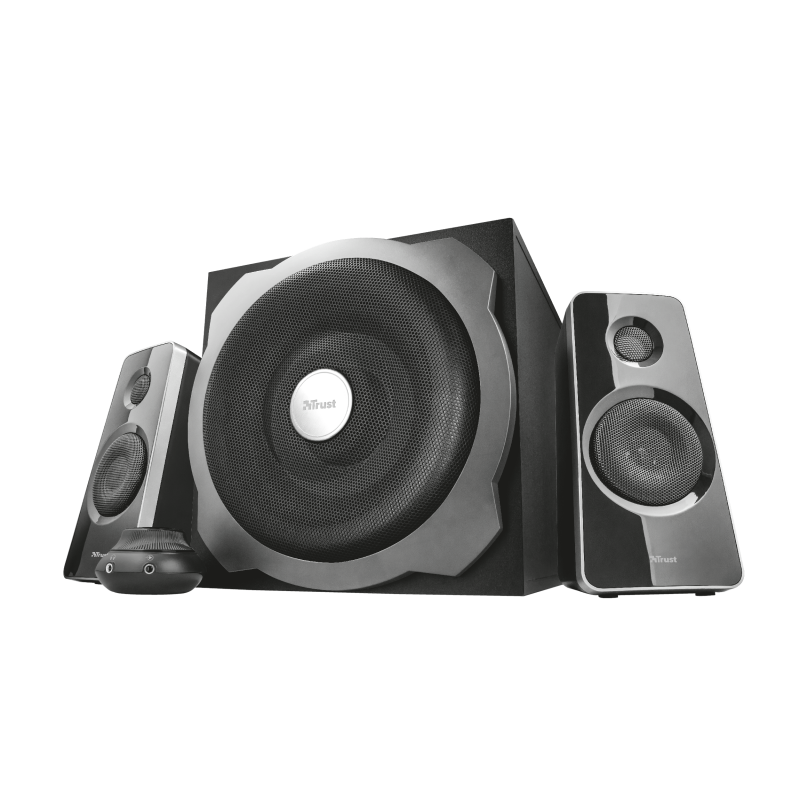 TRUST SPEAKERS TYTAN 2.1 120W BLACK