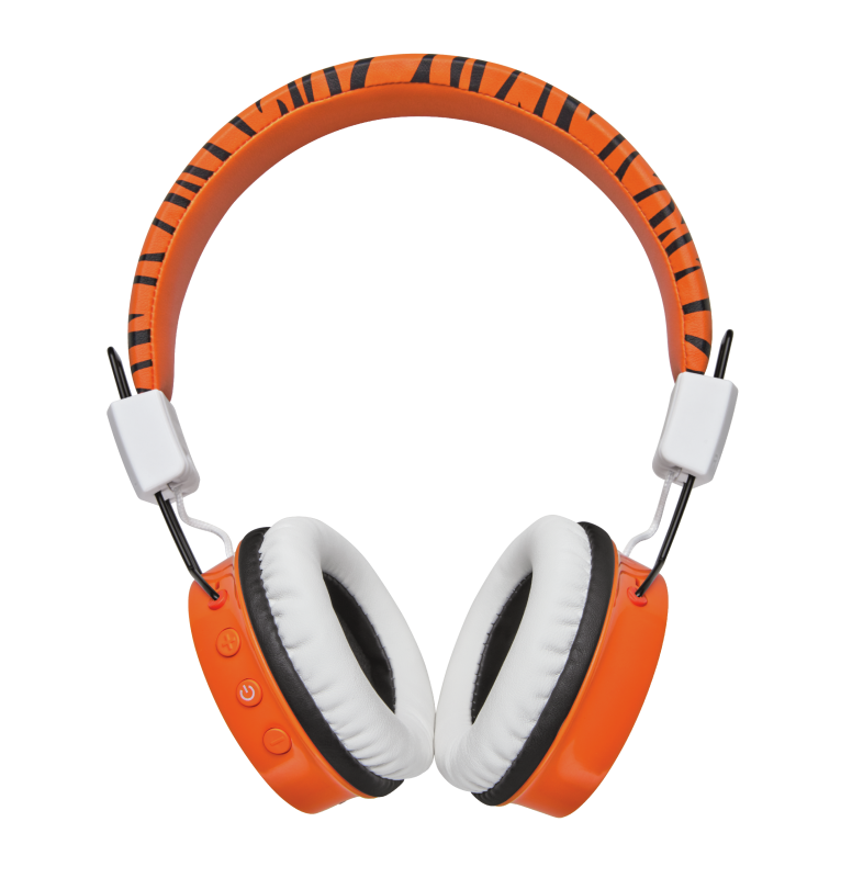 TRUST COMI KIDS BT HEADPHONES ORNG 23583