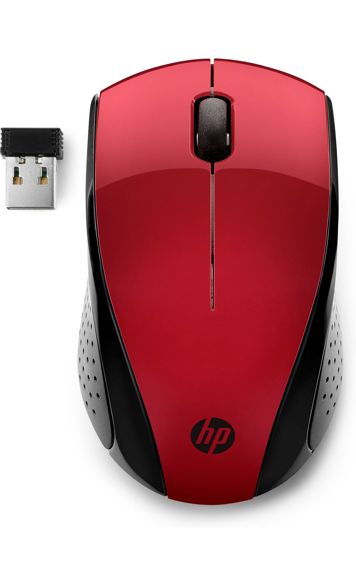 HP 7KX10AA MOUSE 220 WIRELESS RED