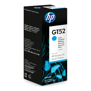 HP BOTTLE INK GT52 CYAN 70ML