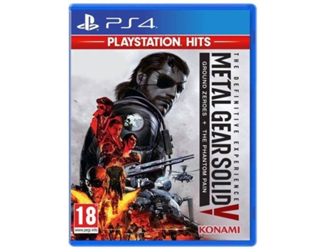 PS4 GAME METAL GEAR SOLID V: THE DEF.EXP